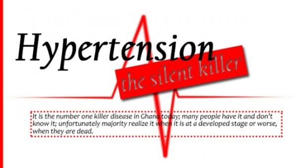 the silent killer is hypertension Hypertension (high blood pressure  hypertension: the silent killer  older people are at a higher risk of getting high blood pressure hypertension increases.
