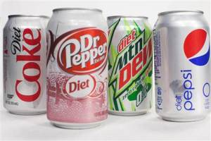 diet soda image