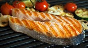 image grilled salmon