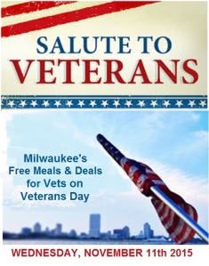 Veteran's Day Graphic for Meals & Deals